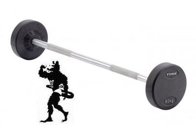 york barbell weight. york pro-style barbell 20kg weight b